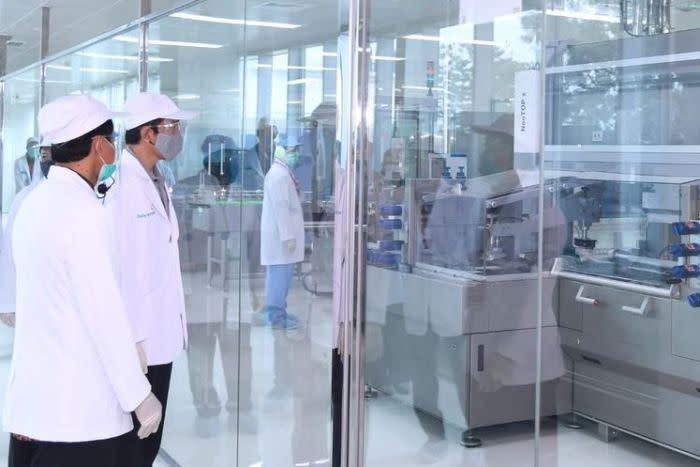 Kunjungan Presiden Joko Widodo ke Bio Farma, Bandung