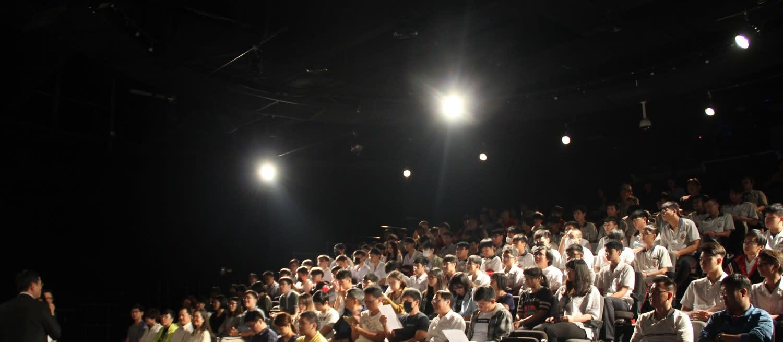 現場觀眾反應相當熱烈