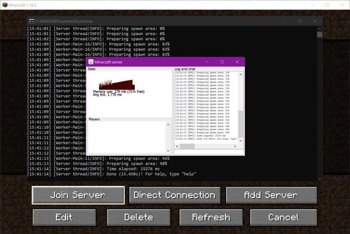 Use Mojang Minecraft Server