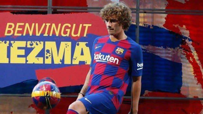Penyerang Barcelona, Antoine Griezmann