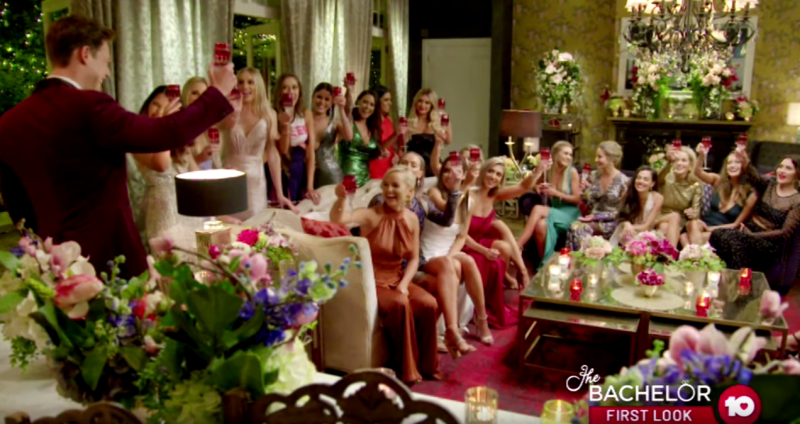 How much alcohol is served on The Bachelor Australia 2019 with Matt Agnew