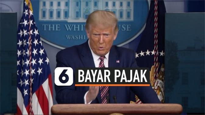 VIDEO: Donald Trump diklaim Tidak Bayar Pajak selama 10 Tahun, Benarkah?