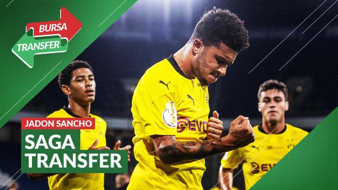 VIDEO Bursa Transfer: Masih Diburu Manchester United, Jadon Sancho Terus Cetak Gol Untuk Borussia Dortmund