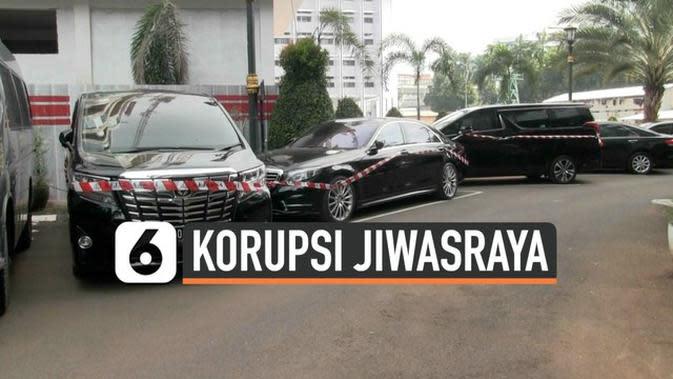 VIDEO: Penampakan Kendaraan Mewah 5 Tersangka Korupsi Jiwasraya