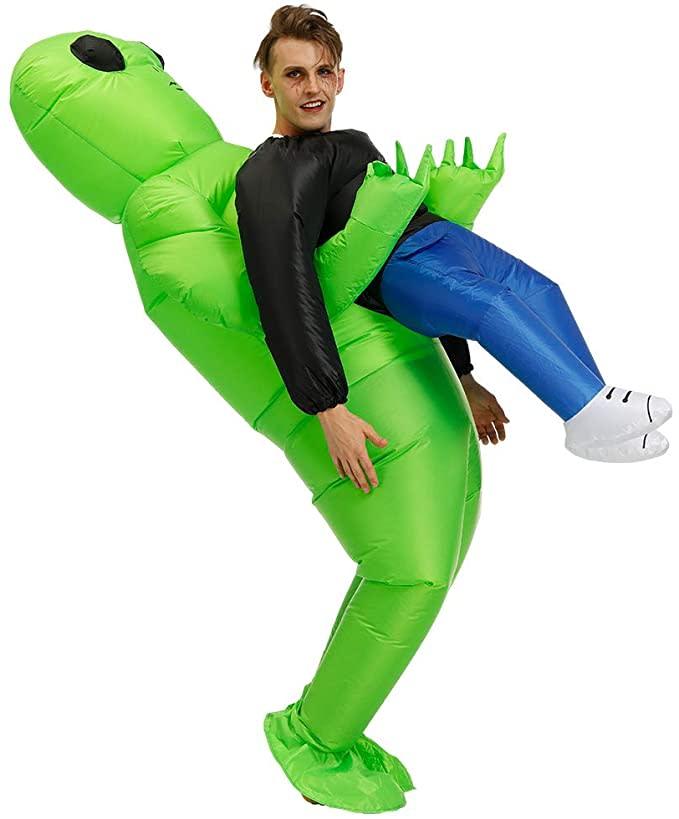 Inflatable Alien Rider Costume. Image via Amazon.