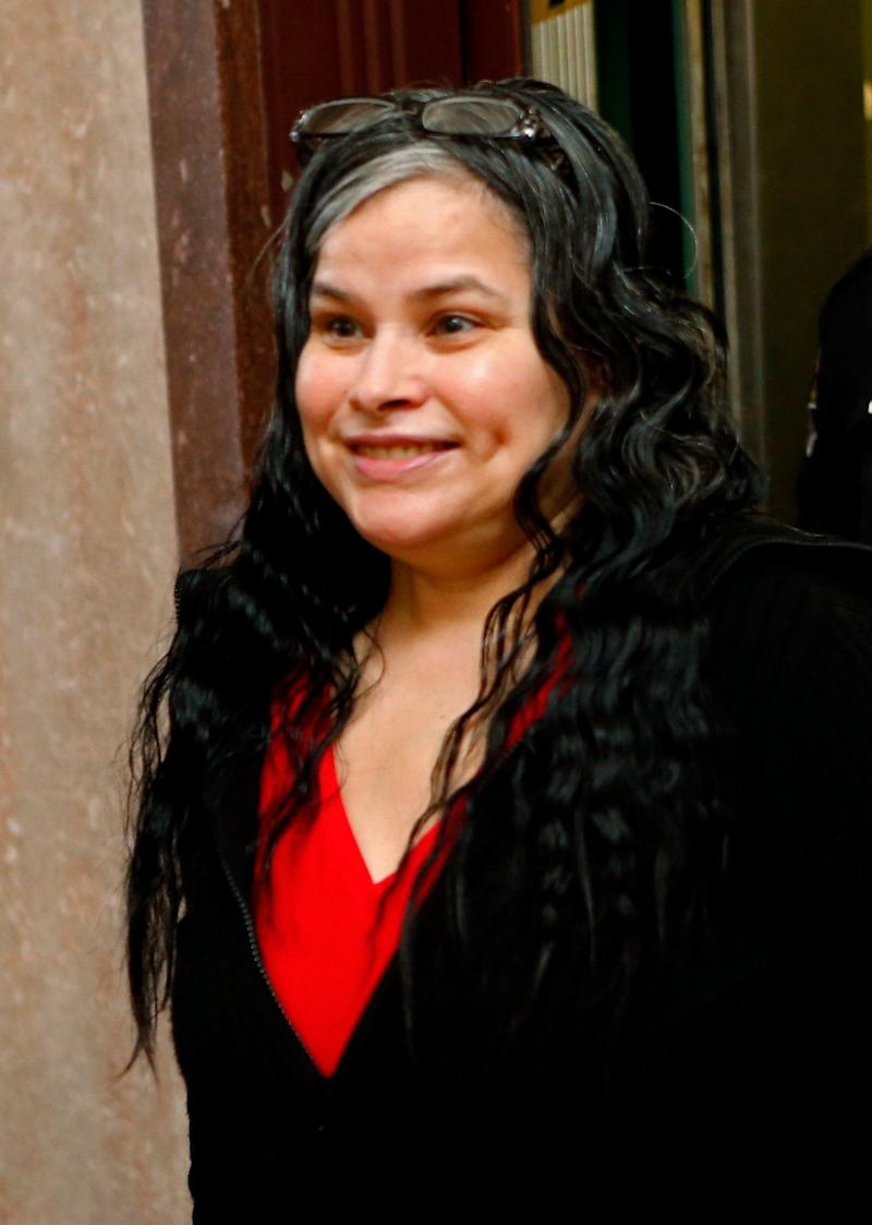 Juanita Martinez Gomez was convicted of killing her 33-year-old daughter by forcing a crucifix and medallion down her throat because she believed the woman was possessed by the devil. Source: AAP