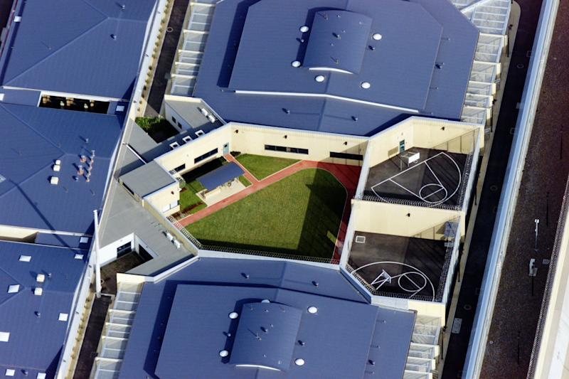 A sky view of Goulburn Correctional Centre. Ivan Milat was jailed here.