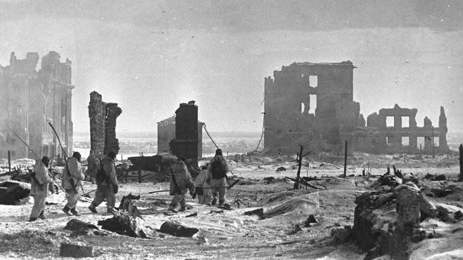 Pertempuran Stalingrad (RIA Novosti / Creative Commons / Wikimedia)