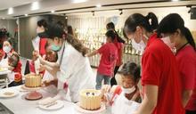 弘光與華山辦母親節派對 獨居嬤享貴婦級服務、做養生蛋糕
