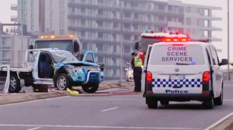 Driver 'resting arm out window of ute' almost loses limb in