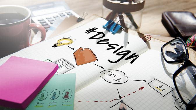 ilustrasi ciri-ciri leaflet/shutterstock