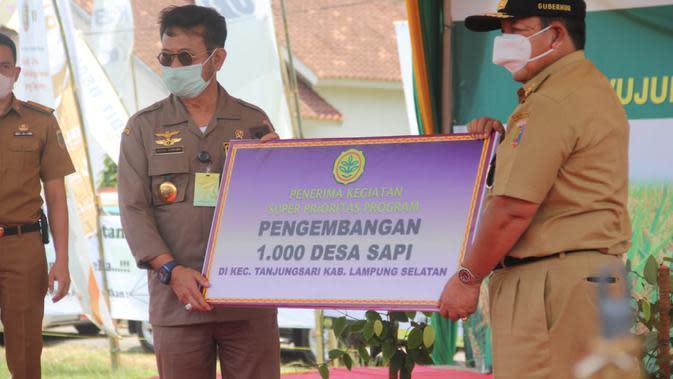 Mentan Beri Dukungan Lampung untuk Tingkatkan Ekonomi Lewat Program KPB