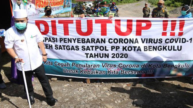 Cegah Penyebaran Corona Covid-19, Wali Kota Bengkulu Tutup Eks Lokalisasi