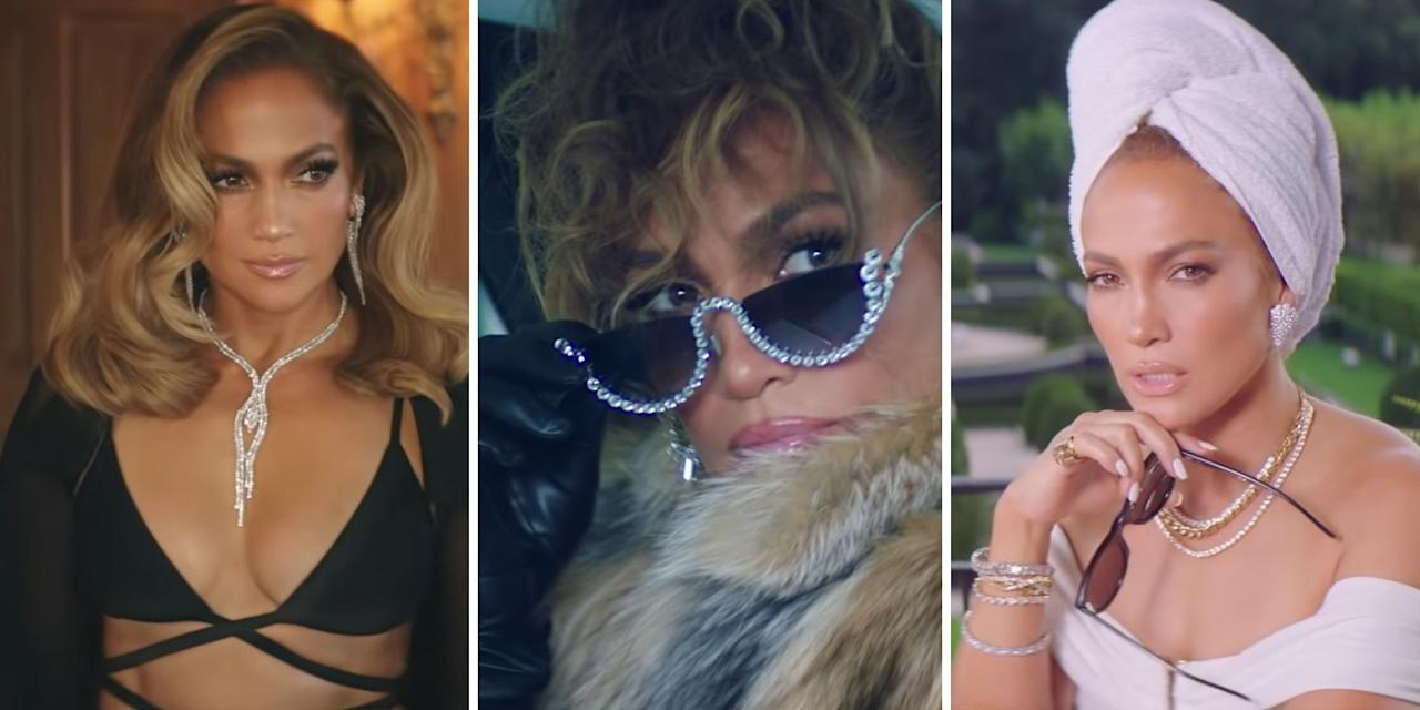 """<p class=""""body-dropcap"""">The drop of the <a href=""""https://www.youtube.com/watch?v=A1kuaEuLX78"""" target=""""_blank"""">dual-part music video</a> for """"Pa Ti"""" and """"Lonely,"""" a musical collaboration between Jennifer Lopez and Maluma, offered not only a cinematic narrative (think <em>The</em> <em>Wolf of Wall Street</em> meets <em>Chicago</em>), but also some of the hottest fashion moments to grace our laptop screens this year. From a sheer black bodysuit to a fur coat, J.Lo becomes the luxe embodiment of white-collar corruption.</p><p>In the two-parter, the <em>Hustlers</em> actress is<em> </em>a billionaire being investigated for corruption, while Maluma is an undercover FBI agent who poses as both her bodyguard and lover. Their sordid affair goes sour at the end of """"Pa Ti,"""" when J.Lo is pulled from her bed and arrested in the middle of the night. From there, Maluma's true identity is revealed, and the two engage in some heated exchanges as they sit across the table from one other inside a police interrogation room.</p><p>J.Lo worked with <a href=""""https://www.instagram.com/robzangardi/"""" target=""""_blank"""">stylist Rob Zangardi</a>, a frequent collaborator, to bring her character to life. Below, a roundup of all her best fashion moments from the music video.</p>"""