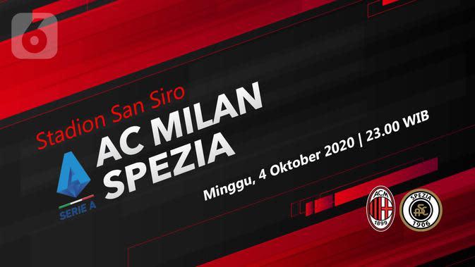 AC Milan vs Spezia (Liputan6.com/Abdillah)
