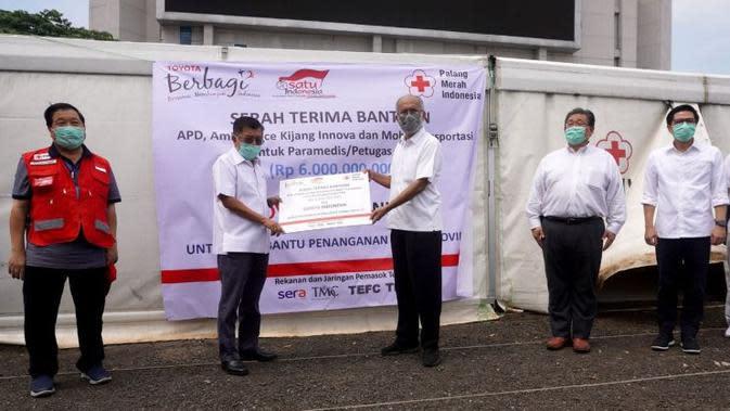 Toyota Indonesia Kembali Berkontribusi dalam Penanganan Pandemi Corona Covid-19