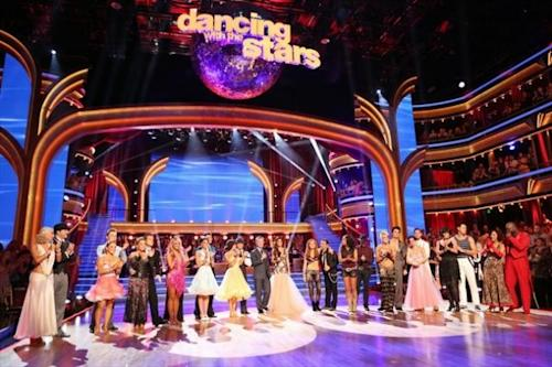 The cast during Week 2 of 'Dancing with the Stars: All-Stars,' Oct. 1, 2012 -- ABC