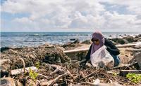 來自印尼的她,用自己的休假日、保護台灣的山與海