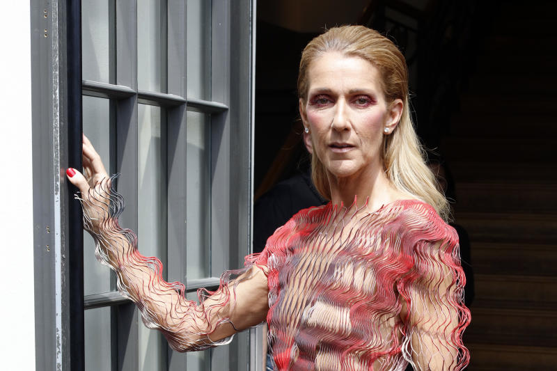 Celine Dion seen out and about in Paris, France, on July 1, 2019. (Photo by Mehdi Taamallah/NurPhoto via Getty Images)