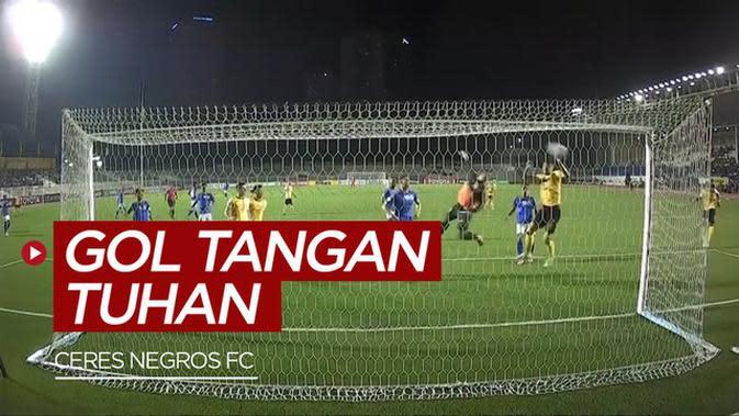 VIDEO: Tim Filipina Unggul Atas Bali United Berkat Gol Tangan Tuhan