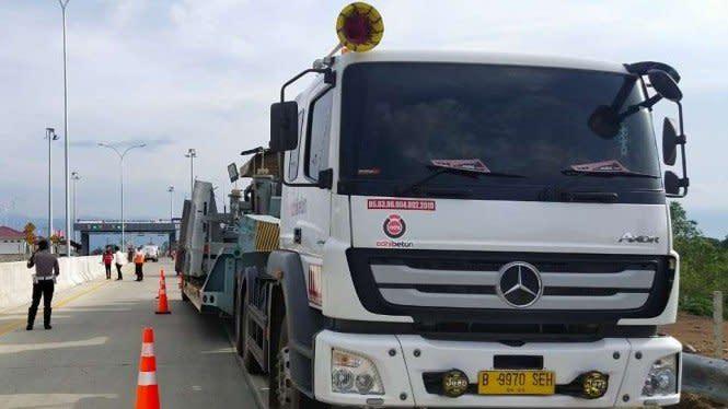 Jalan Tol yang Baru Diresmikan Jokowi di Aceh Telan Korban Jiwa