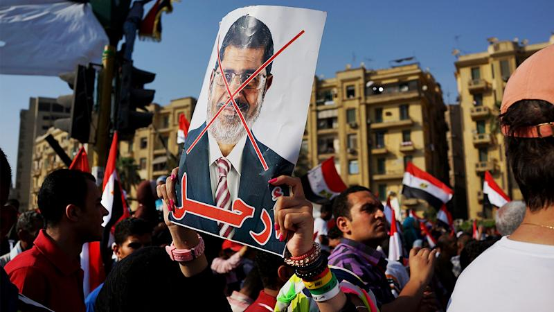 Egypt Military Ousts Morsi as News Crews Scramble to Keep Up With Events