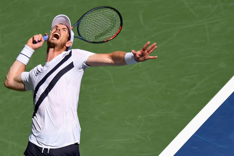 Murray marks Grand Slam return by clawing out five-set win against Nishioka