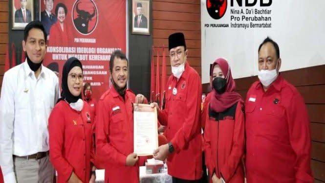 Duet Anak Eks Kapolri dan Artis Jadi Jagoan PDIP di Pilkada Indramayu