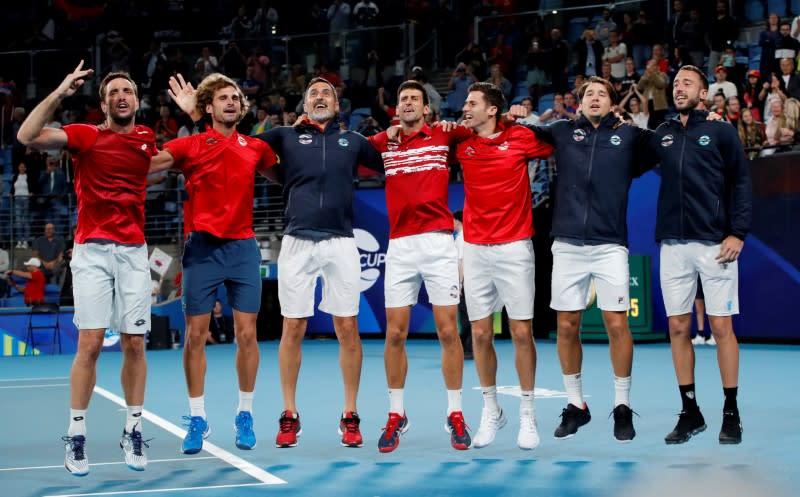 Djokovic leads Serbia to ATP Cup glory