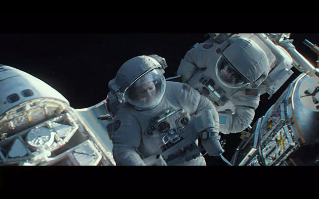 New Trailer: Bullock and Clooney Take a Wild Ride in 'Gravity'