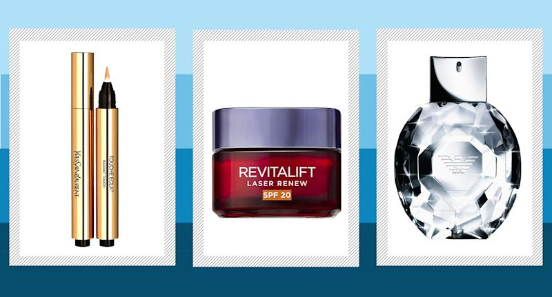 Boots has launched an unmissable beauty sale on big brands including YSL, L'Oreal, Emporio Armani and many more. (Yahoo Style)