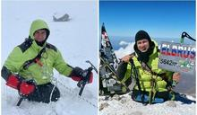 5年前意外失雙腿 男「徒手」攻頂5642尺高峰創紀錄