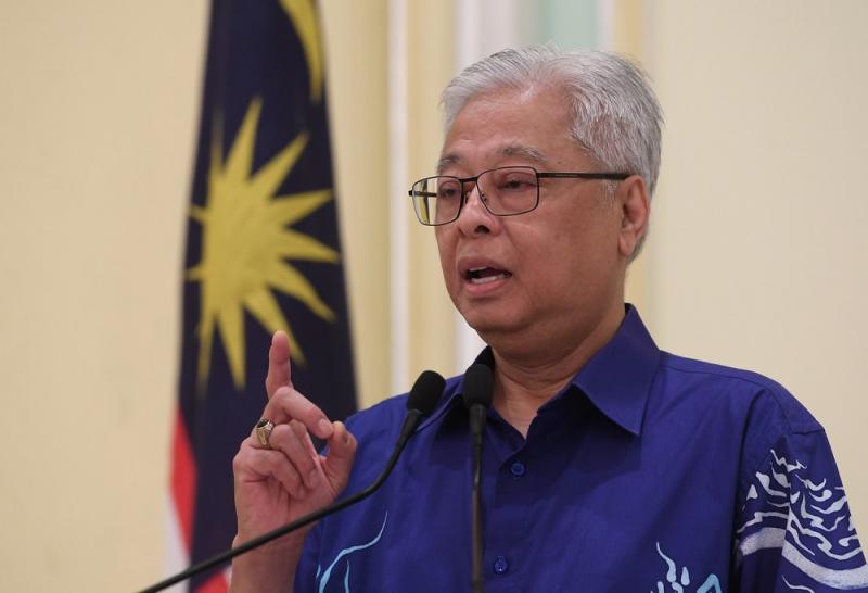 Senior Minister Datuk Seri Ismail Sabri Yaakob at a press conference in Putrajaya June 8, 2020. — Bernama pic
