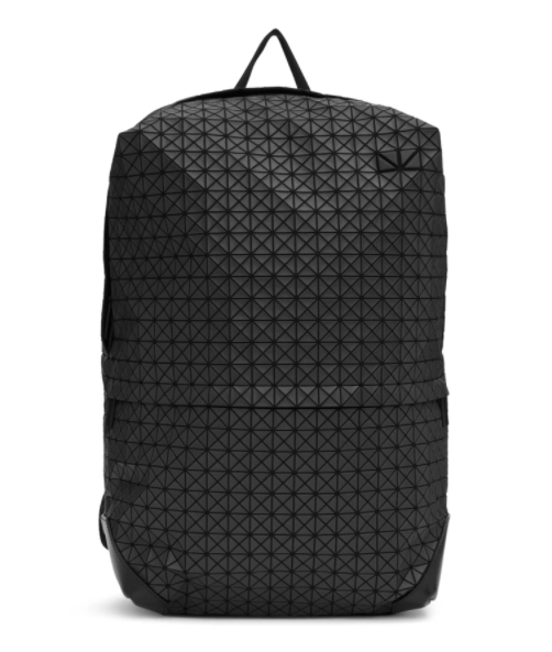 Bao Bao Issey Miyake green liner backpack, 48% off. US$626 (was US$1203.75). PHOTO: Ssense