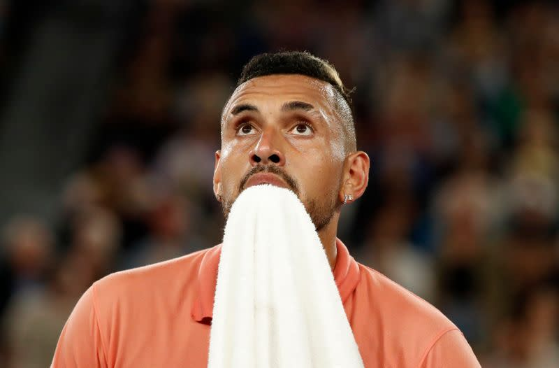 Australia's Kyrgios offers to drop food at doorstep of those in need