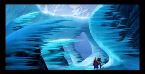 """This publicity photo released by Disney shows a scene from the animated film, """"Frozen, """" which hits the big screen Nov. 27, 2013. More than 45,000 fans are expected at this weekend's D23 Expo, a three-event celebration of all things Disney at the Anaheim Convention Center. On the animation front, the studio will showcase Walt Disney Animation Studios' computer-generated adventure """"Frozen"""" and Pixar's prehistoric comedy """"The Good Dinosaur"""" during a Friday presentation, as well as the """"Finding Nemo"""" sequel """"Finding Dory,"""" the manga-style Marvel adaptation """"Big Hero 6"""" and the new Mickey Mouse short film """"Get a Horse!"""" (AP Photo/Copyright Disney)"""
