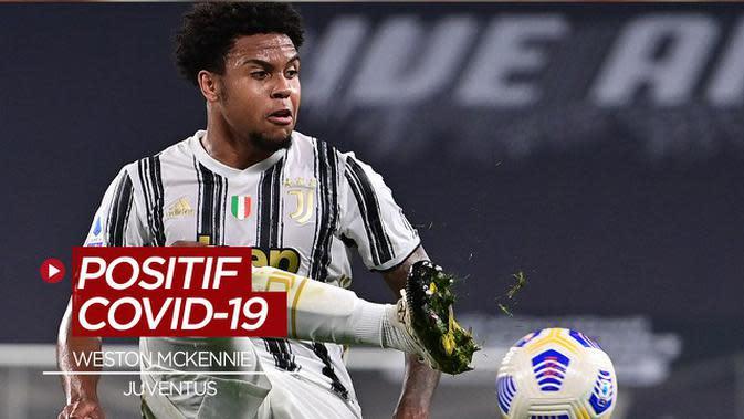 VIDEO: Pemain Baru Juventus, Weston McKennie Positif COVID-19