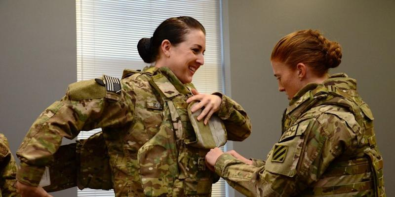 The U.S. Military Is Finally Fielding Body Armor Designed for Women