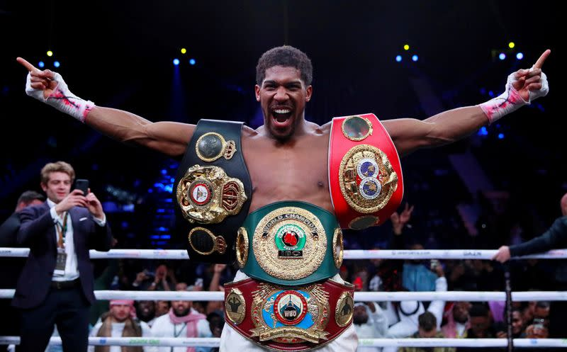 Joshua would fight behind closed doors only as last resort - Hearn