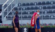 羅馬網賽/謝淑薇將爭女雙本季第4冠 向無觀眾致意