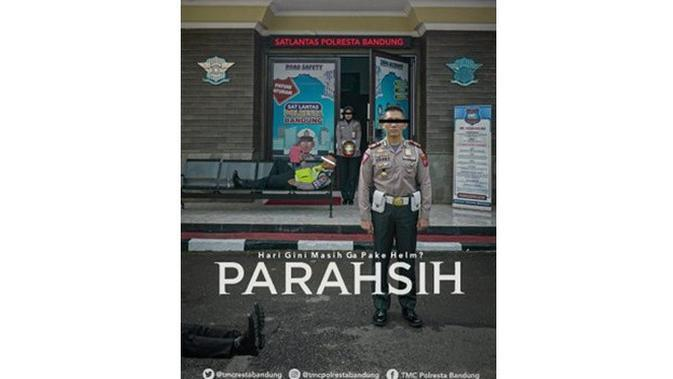 Editan 5 Poster Film Parasite Ini Kocak, Bikin Geleng Kepala (sumber: Twitter.com/tmcrestabandung)