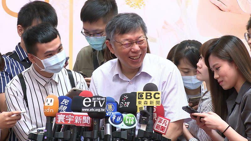 ▲台北市長柯文哲。(圖/NOWnews資料照,記者丁上程攝)