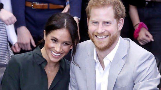 Pandemi, Meghan Markle dan Pangeran Harry Habiskan Waktu dengan Anak