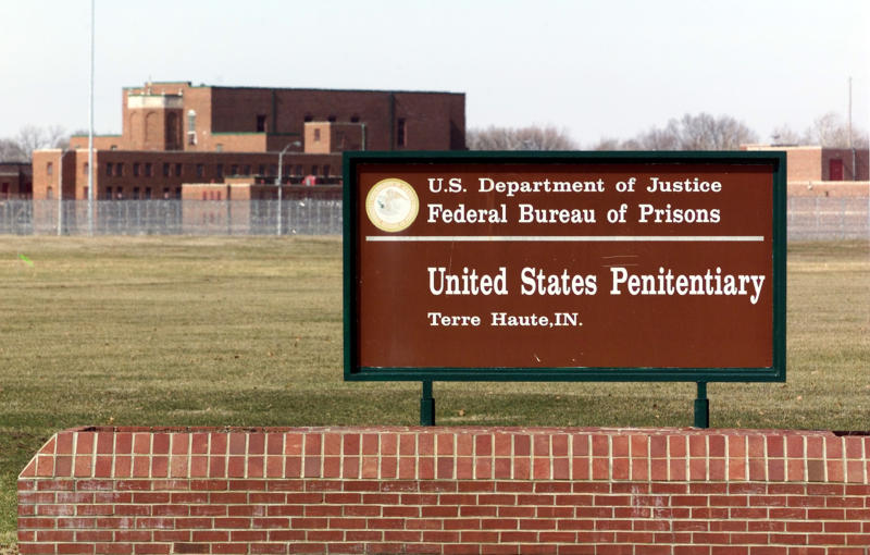 Virus Outbreak Federal Executions