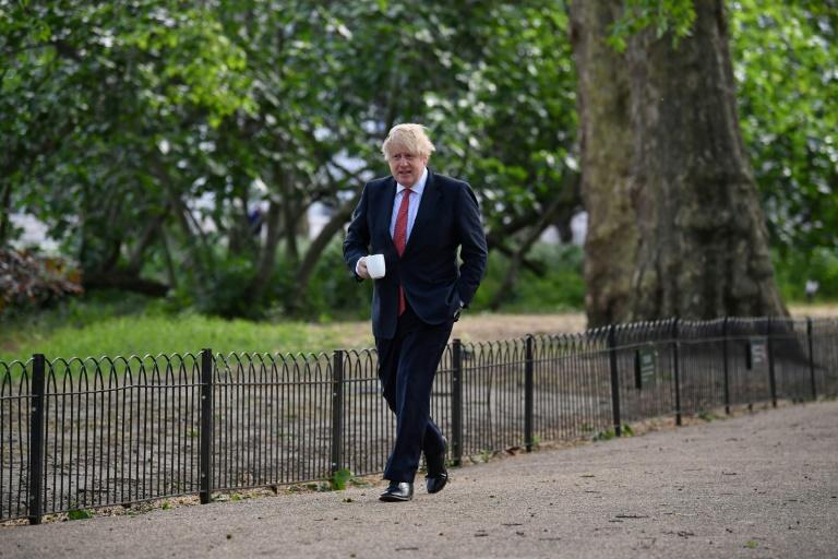 Britain's Prime Minister Boris Johnson has insisted he is putting safety first