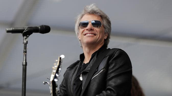 Bon Jovi (AP Photo/Julio Cortez)