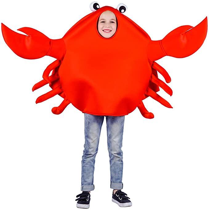 Child's Unisex King Crab Costume. Image via Amazon.
