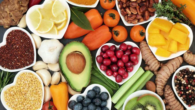 makanan sehat (sumber: iStockphoto)
