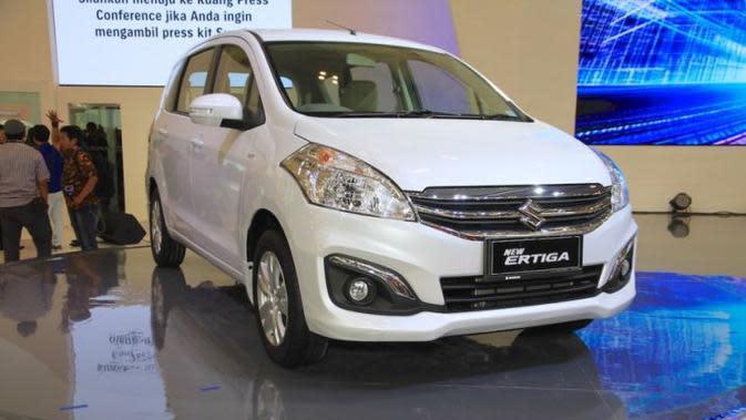 Ertiga bermesin diesel akan mendapat suntikan teknologi Smart Hybrid Vehicle by Suzuki (SVHS).