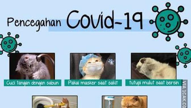 Meme virus corona (Sumber: 1cak)